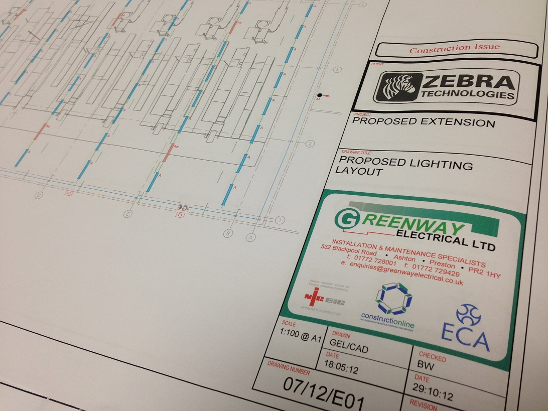 Production Facility at Zebra Technology | Greenway Electrical Ltd